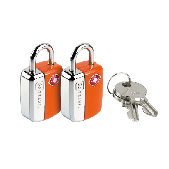 GO TRAVEL MINI GLO PADLOCKS TRAVEL SENTRY