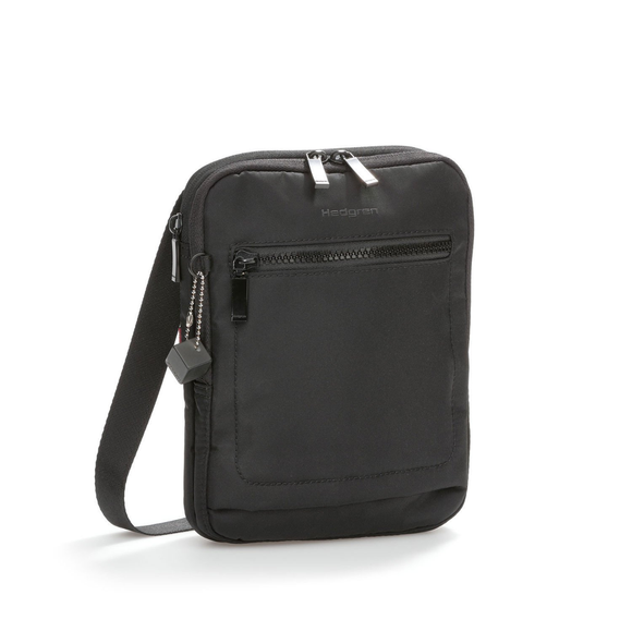 HEDGREN INTER CITY TREK CROSS BODY BLACK