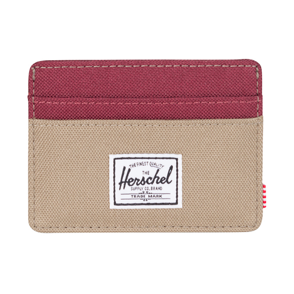 Herschel Charlie Wallet Brindle Windsor Wine