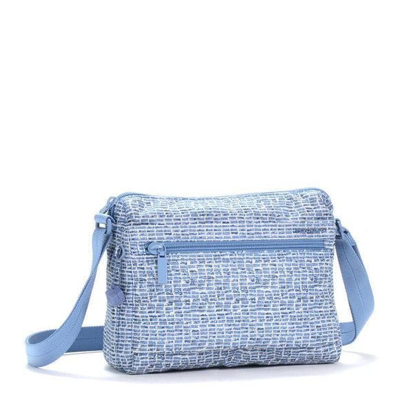 HEDGREN INNER CITY EYE CROSS BODY CRAFT BLUE PRINT