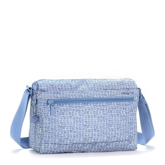 HEDGREN INNER CITY EYE M CROSS BODY BAG CRAFT BLUE PRINT