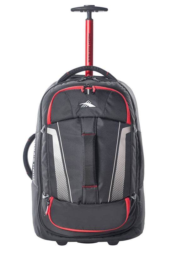 High Sierra Composite V3 56cm Wheeled Duffle Small - Black