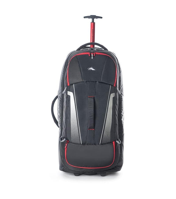 High Sierra Composite V3 84cm Wheeled Duffle Large - Black