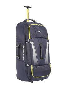 High Sierra Composite V3 84cm Wheeled Duffle Large - Navy/Yellow