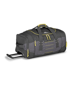 High Sierra Ultimate Access 76cm Wheeled Duffle Charcoal
