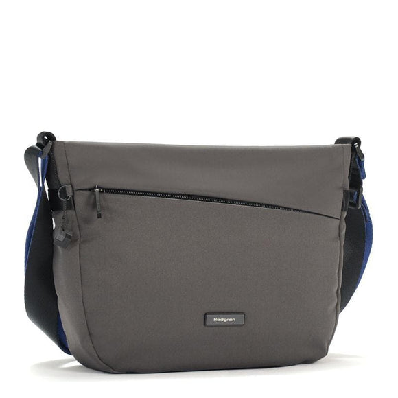 HEDGREN NOVA GRAVITY CROSS BODY BAG GALAXY GREY