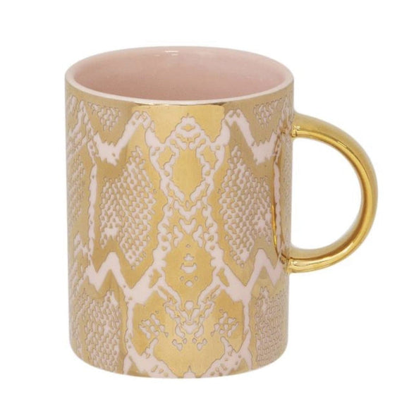 CRISTINA RE MUG SAFARI SNAKESKIN