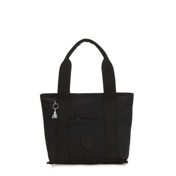 KIPLING BASIC ELEVATED ERA SMALL TOTE RICH BLACK
