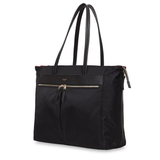 KNOMO MAYFAIR GROSVENOR PLACE TOTE 15 INCH BLACK