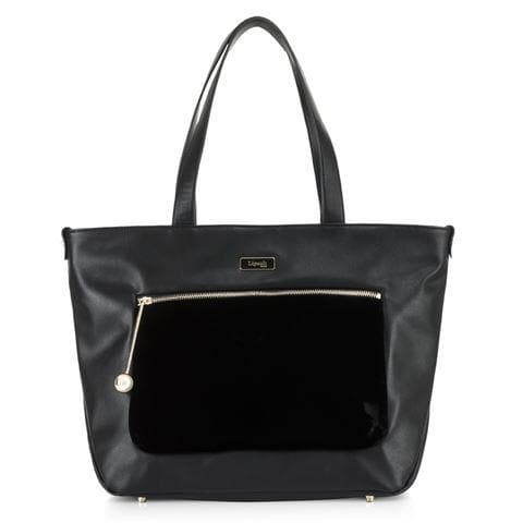 LIPAULT NOVELTY COLLECTION TOTE BAG BLACK