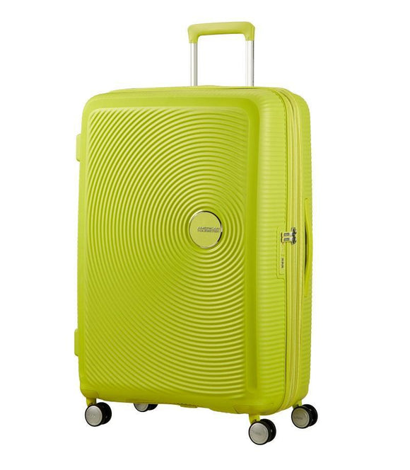 AMERICAN TOURISTER CURIO 55CM SPINNER LIME PUNCH