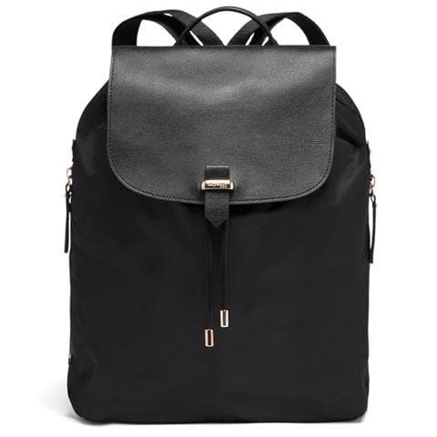 LIPAULT PLUME AVENUE BACKPACK MEDIUM JET BLACK