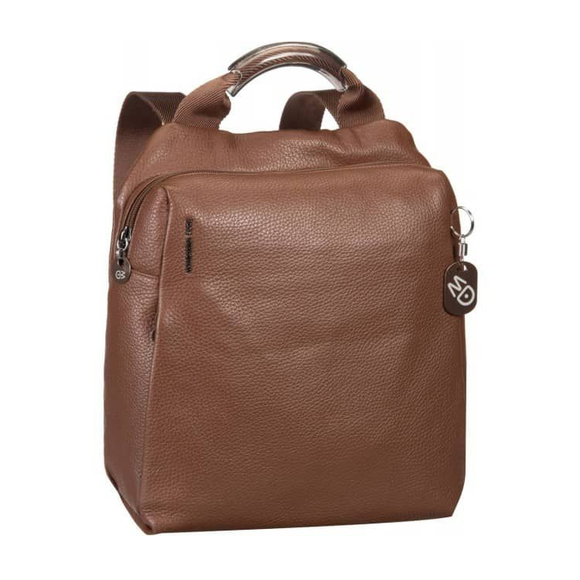 Mandarina Duck Mellow Leather Backpack Tan