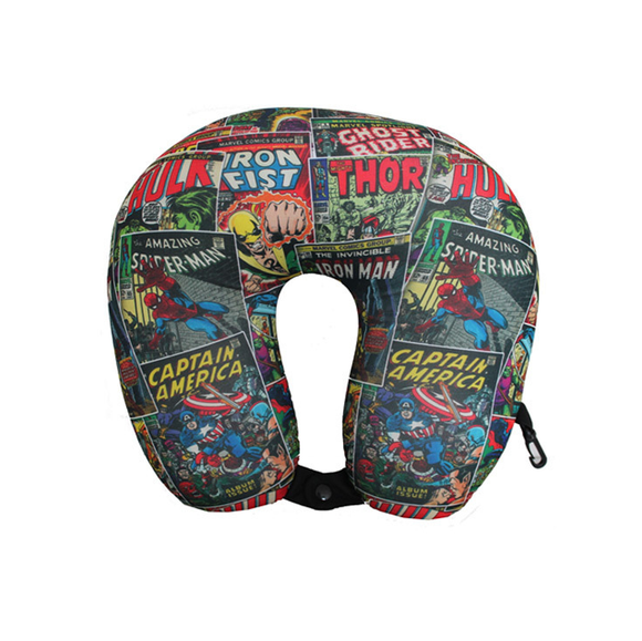 MARVEL COMICS TRAVEL NECK PILLOW