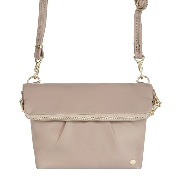 Pacsafe Citysafe CX Convertible Crossbody - Blush Tan