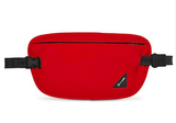 Pacsafe Coversafe X100 RFID-Blocking Waist Wallet Chili Red
