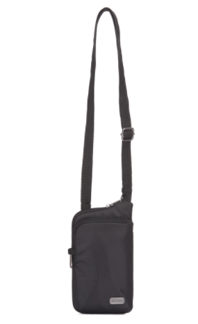 PACSAFE DAYSAFE TECH CROSSBODY BLACK