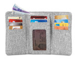 PACSAFE RFID SAFE LX100 WALLET GREY