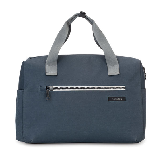 PACSAFE INTASAFE BRIEF 15 INCH LAPTOP BAG NAVY BLUE