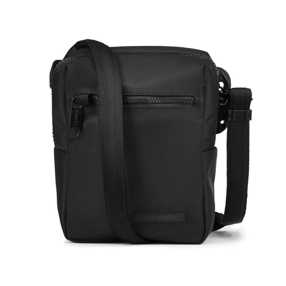 PACSAFE INSTASAFE ANTI-THEFT MINI CROSSBODY BAG BLACK