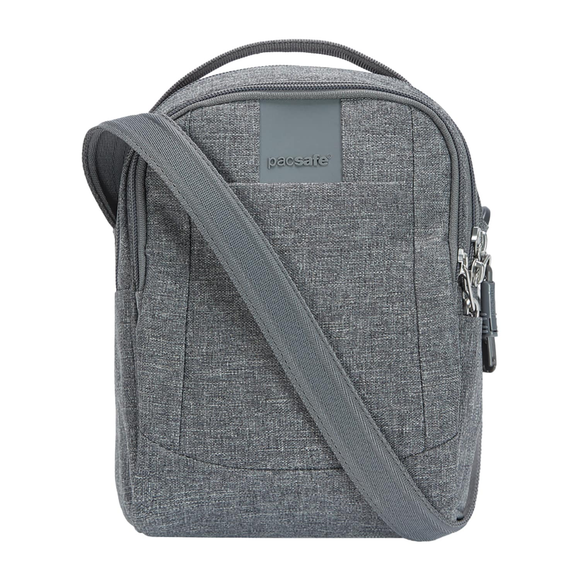 PACSAFE METROSAFE LS100 CROSSBODY BAG GREY