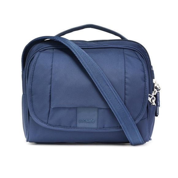 Pacsafe Metrosafe LS140 Compact Shoulder Bag Deep Navy