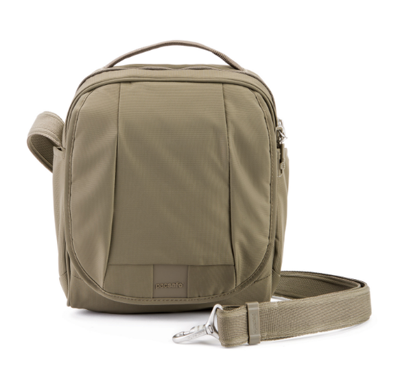 Pacsafe Metrosafe LS200 Shoulder Bag Earth Khaki