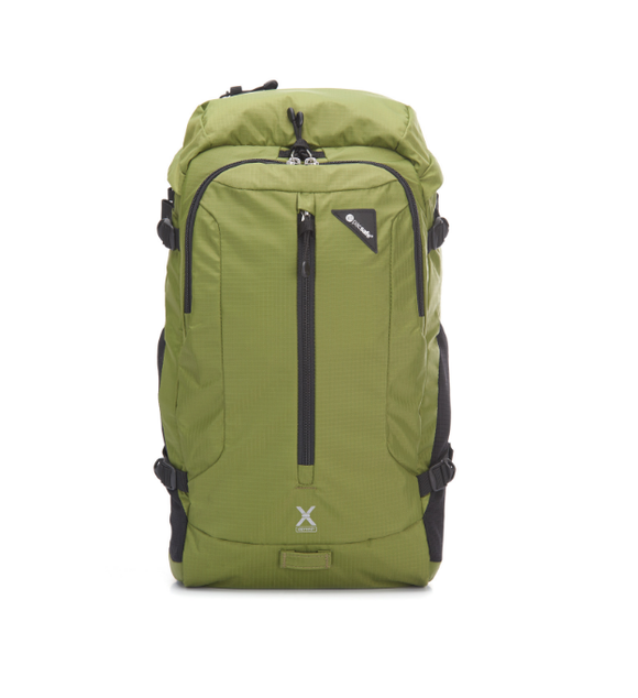 Pacsafe Venturesafe X22 Adventure Backpack Olive Green