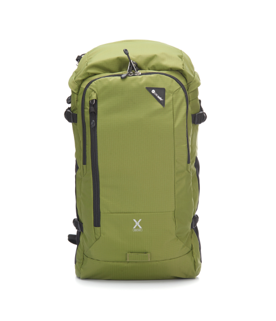 Pacsafe Venturesafe X30 Adventure Backpack Olive Green