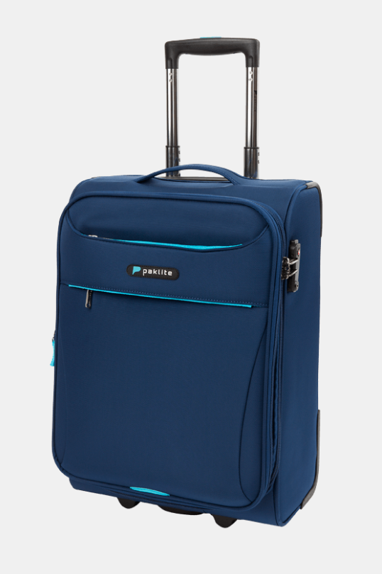 PAKLITE ASTRAL 2 WHEEL 54CM TROLLEY CASE NAVY