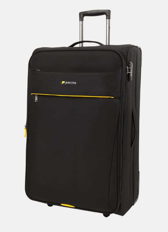 PAKLITE ASTRAL 2 WHEEL 76CM TROLLEY CASE BLACK