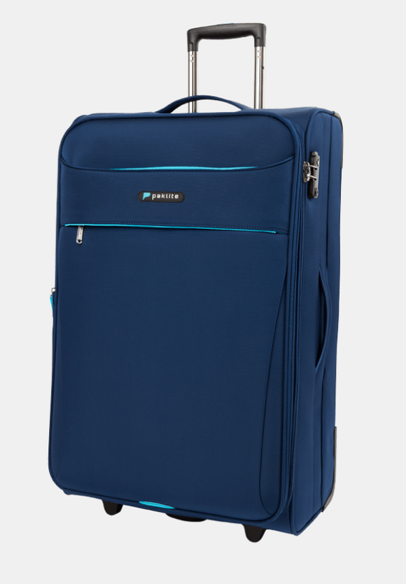 PAKLITE ASTRAL 2 WHEEL 76CM TROLLEY CASE NAVY