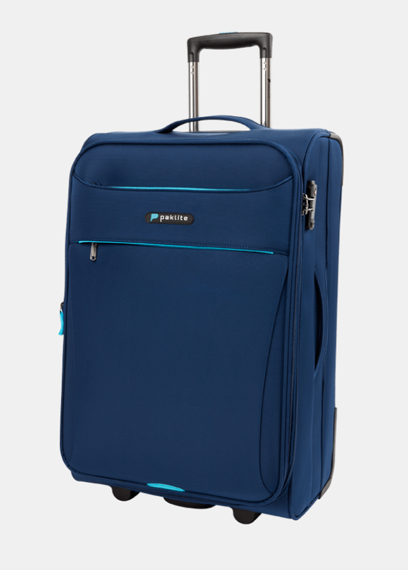 PAKLITE ASTRAL 2 WHEEL 65CM TROLLEY CASE NAVY
