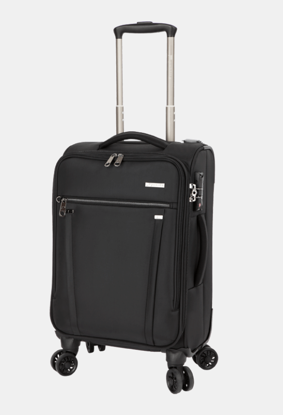 Paklite Bureau Business Cabin 4 Wheel Trolley Case Black