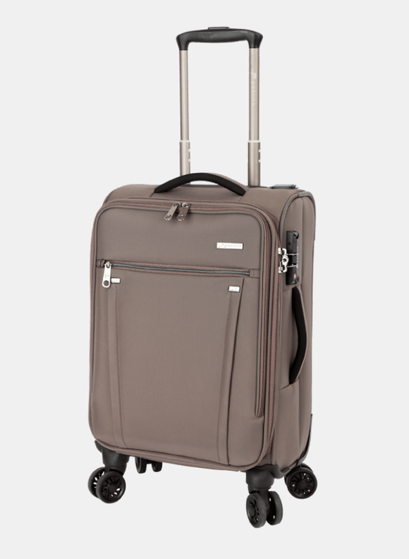 Paklite Bureau Business Cabin 4 Wheel Trolley Case Taupe