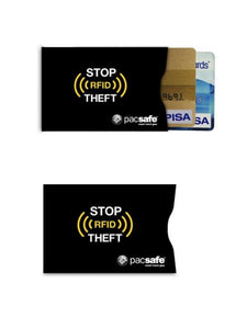PACSAFE RFIDSLEEVE 25 CREDIT CARD