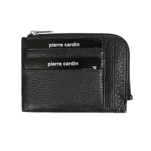 PIERRE CARDIN CARD WALLET BLACK