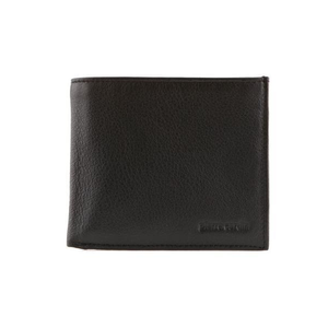 PIERRE CARDIN MENS SOFT ITALIAN LEATHER RFID WALLET BLACK