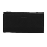 PIERRE CARDIN ITALIAN LEATHER LADIES BIFOLD WALLET BLACK