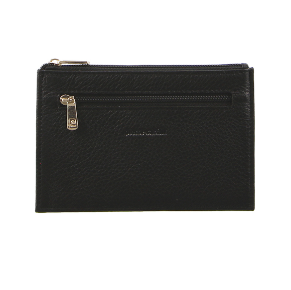 PIERRE CARDIN CARD HOLDER BLACK