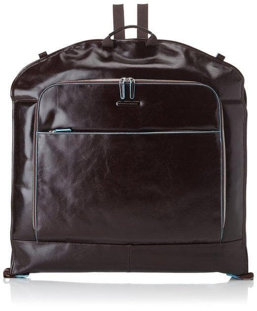 Piquadro Blue Square Slim Garment Bag in Mogano