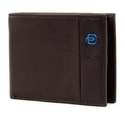 Piquadro Wallet with Coin Pouch PU1392P15 Brown