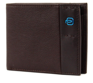Piquadro Wallet with Coin Pouch PU257P15 Brown