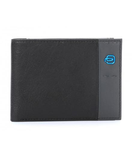 Piquadro Wallet with Coin Pouch PU257P15 Black