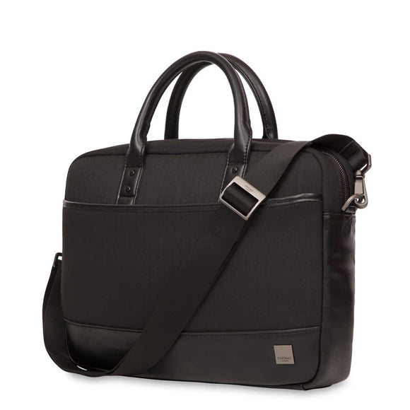 KNOMO HOLBORN PRINCETON LAPTOP BRIEF 15.6 INCH BLACK