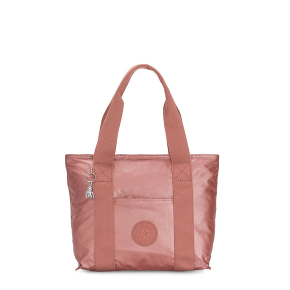 KIPLING BASIC PLUS ERA SMALL TOTE METALLIC RUST