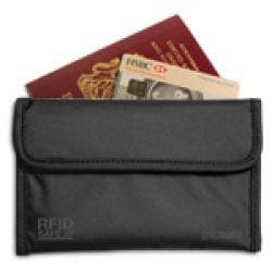 Pacsafe RFIDsafe 50 Passport Protector Black