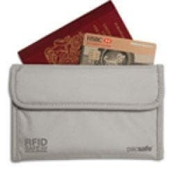 Pacsafe RFIDsafe 50 Passport Protector Neutral Grey
