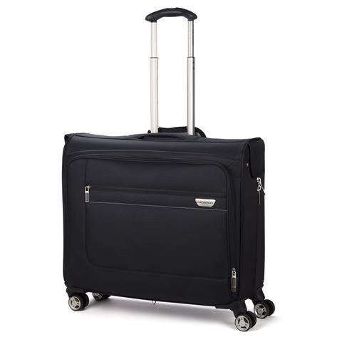 RICCARDO MARVISTA 4 WHEEL ROLLING GARMENT BAG BLACK