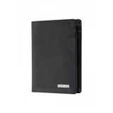 SAMSONITE DLX LEATHER WALLETS WALLET WITH ID PLUS 4CC BLACK